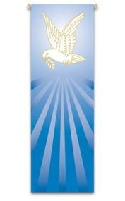 Holy Spirit Dove Banner,