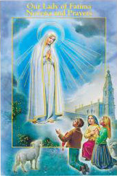 Novena Booklet, Our Lady of Fatima