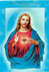 Novena Booklet, Sacred Heart of Jesus
