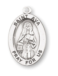 St. Ava Patron Saint Medal