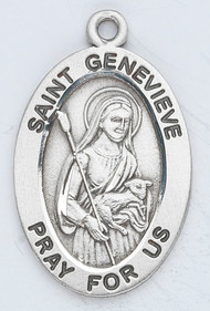 Patron Saint of natural disasters, Paris, and fevers