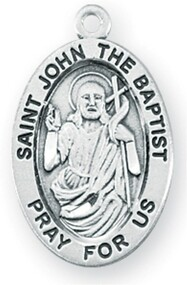 Patron Saint of Baptism, Bird Dealers, Converts, Epilepsy, Monastic Life, Tailors.