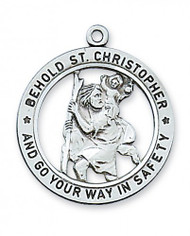 Saint Christopher Medal - L2514