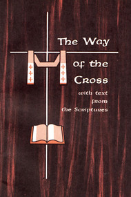 """The Way of the Cross with Text from Sacred Scripture During the Turkish occupation of the Holy Land in the late Middle Ages, when pilgrims were prevented from visiting its sacred sites, the custom arose of making replicas of those holy places, where the faithful might come to pray.  One of the most popular of these devotions was the """"Stations of the Way of the Cross,"""" which were imitations of the """"stations,"""" or stopping places of prayer on the Via Dolorosa in Jerusalem. By the late sixteenth century the fourteen stations as we know them today, were erected in almost all Catholic churches.  A """"fifteenth station"""" is added here since the Passion of Christ is meaningless unless the Resurrection is kept in mind. Passion, Death, and Resurrection is the new Passover, from the death of sin to the life of freedom in love.  This """"fifteenth station' should be done before the Resurrected Christ in the tabernacle."""