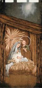 Nativity Woven Wall Banner