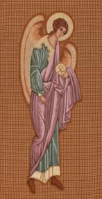 Byzantine Angel Woven Banner 50