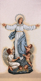 Assumption of Mary w/Angels