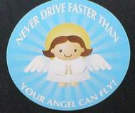 Guardian Angel Car Magnet