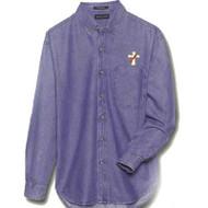 Long Sleeve Shirt-Cypress Denim