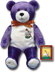 "9"" Tall Bear has Sheep & Staff on his chest and is holding Reconciliation Book in his hand. Similar to the Popular Beanie Babies"
