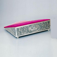 Missal Stand in Antique Silver