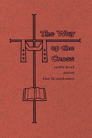 """Way of the Cross with Sacred Scripture:  During the Turkish occupation of the Holy Land in the late Middle Ages, when pilgrims were prevented from visiting its sacred sites, the custom arose of making replicas of those holy places, where the faithful might come to pray.  One of the most popular of these devotions was the """"Stations of the Way of the Cross,"""" which were imitations of the """"stations,"""" or stopping places of prayer on the Via Dolorosa in Jerusalem. By the late sixteenth century the fourteen stations as we know them today, were erected in almost all Catholic churches. A """"fifteenth station"""" is added here since the Passion of Christ is meaningless unless the Resurrection is kept in mind. Passion, Death, and Resurrection is the new Passover, from the death of sin to the life of freedom in love.  This """"fifteenth station' should be done before the Resurrected Christ in the tabernacle."""