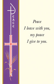Banner Reconciliation Holy Card