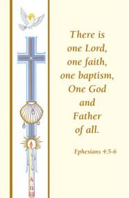 Baptism Bulletin  Banner Style 133