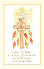 Confirmation Holy Card from the Spiritual Collection