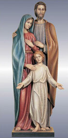 Holy Family Statue 140/16