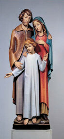 Holy Family Full Round Statue 140/3FR