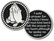 I Said a Prayer for You Today Pocket Token