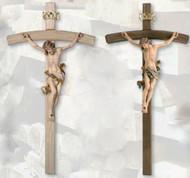 Leonardo Bent Cross Crucifix