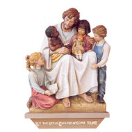 Christ Welcomes the Children Wall Relief