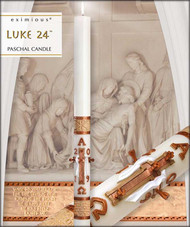 Paschal Candle ~ Luke 24