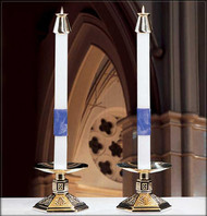 Paschal Altar Candles ~ Ascension