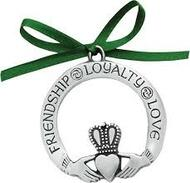 Pewter Claddagh Ornament