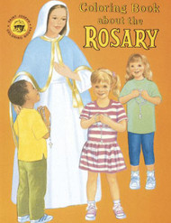 Coloring Book - The Rosary