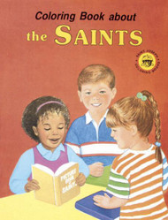 Coloring Book - The Saints