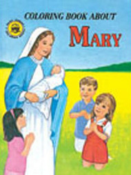Coloring Book - Mary