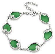 Claddagh Cats Eye Bracelet