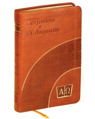 The Confessions of St. Augustine is - after the Bible and the Imitation of Christ - the most widely translated and highly esteemed book in Christian history. Translated by Rev. J.M. Lehen, Ph.D., this Confessions of St. Augustine is published in a prayer book format, offering a more participatory reading and prayer experience based on St. Augustine's confessions of his youthful errors. This classic Confessions of St. Augustine will make a tremendous personal resource or gift.. Burgundy or Brown Dura-Lux cover