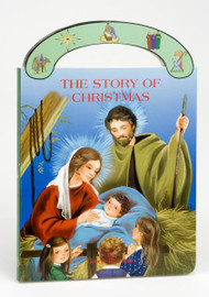 "Ideal book for young children. A sturdy book that will stand up to wear and tear,it provides clear, simple text to introduce children to the story of Jesus' birth. With full-color illustrations and a ""carry-along"" handle. Dimensions: 6"" x 8 1/2"" ~ 16 pages"