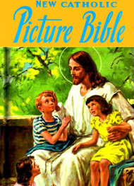 "Now in a padded hardcover edition, here are Catholic stories taken from the Holy Bible, intended for the whole family and easy to understand. The first part treats the Old Testament from Adam to Christ and contains the most important and memorable events in God's dealings with man during that time. The second part contains sixty stories from the New Testament that narrate beautifully the life, teachings, and work of Our Lord and Savior. These simply written stories, praised by leading Catholic educators for their style, will delight children time after time. 224 pages. Padded hard cover. 6 5/8 x 9 1/2""."
