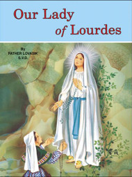St Joseph Picture Books ~ The story of the appearances of Our Lady to St. Bernadette.  Full-color illustrations. Beautifully illustrated in full color. Part of a magnificant series of religious books that will help celebrate God's love for us and help all children better understand the Catholic faith. Simply written by Rev. Lawrence G. Lovasik, S.V.D. . 5 1/2 X 7 3/8 ~ Paperback ~ 32 pages