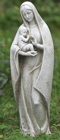 14in Madonna and Child Statue Garden Statue