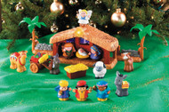 Fisher Price DELUXE Little People Nativity Set for Children