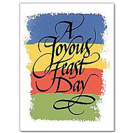 Greeting Cards, A Joyous Feast Day