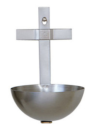 "Stainless Steel bowls will not rust or pit. 5"" height. 3-1/4"" Diameter bowl"