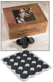 With careful attention given to size and function we are sure you will find this Kwik - Lite Charcoal to be a great value and great product. It is designed to light quickly and last for a long time. Each individual briquette is cradled in a vacuum formed tray for protection and convenience. 100 tabs per box.