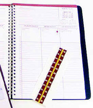 Index tabs for Ecumenical Daily Appointment Planner