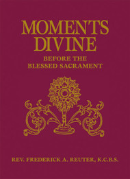 This pious book is especially suited for use any time before the Blessed Sacrament. Each of the 30 chapters contain true stories, various prayers, an Act of Contrition, Sacred Heart reading, Spiritual Communion and so much more. Newly released in a simulated leather binding, it will enrich any devotional collection and inspire greater love for Jesus in the Blessed Sacrament