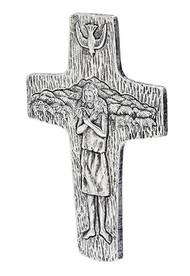 Pectoral Wall Cross, Jesus Holding Sheep