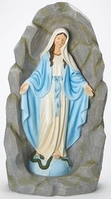 Our Lady of Grace in Grotto Tabletop Figurine