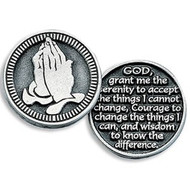 Inspirational Pocket Token, The Serenity Prayer