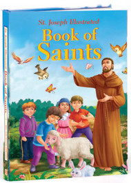 """With Saints stories for young children, this brightly colored, vividly illustrated volume will introduce children to some of the world's most favorite Saints.  112 pages. Size 7"""" x 10"""". Written by Rev. Thomas J. Donaghy"""