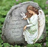 Celtic Angel Garden Stone