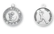 St. Rita Baseball Medal
