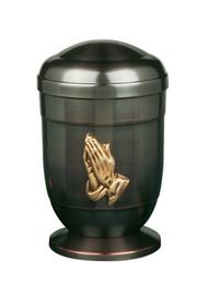 Praying Hands Copper Urn - 120
