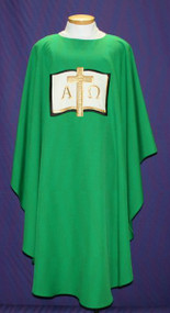 Easy Care Embroidered Chasuble 2015